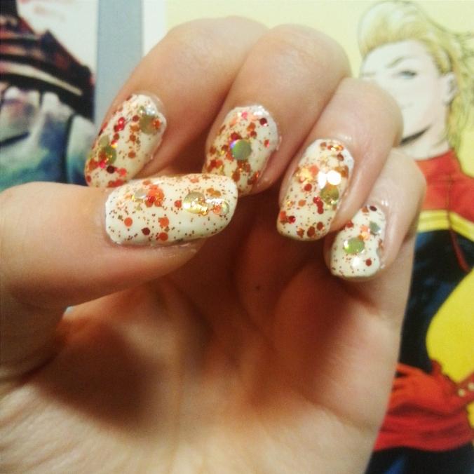 Iron Man nails kawaii nail lacquer review