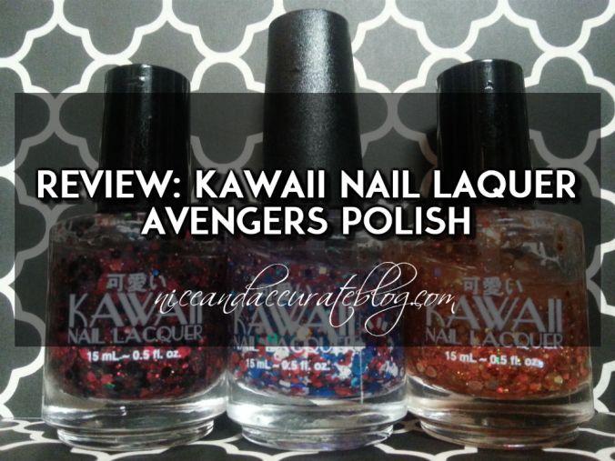 kawaii nail laquer review