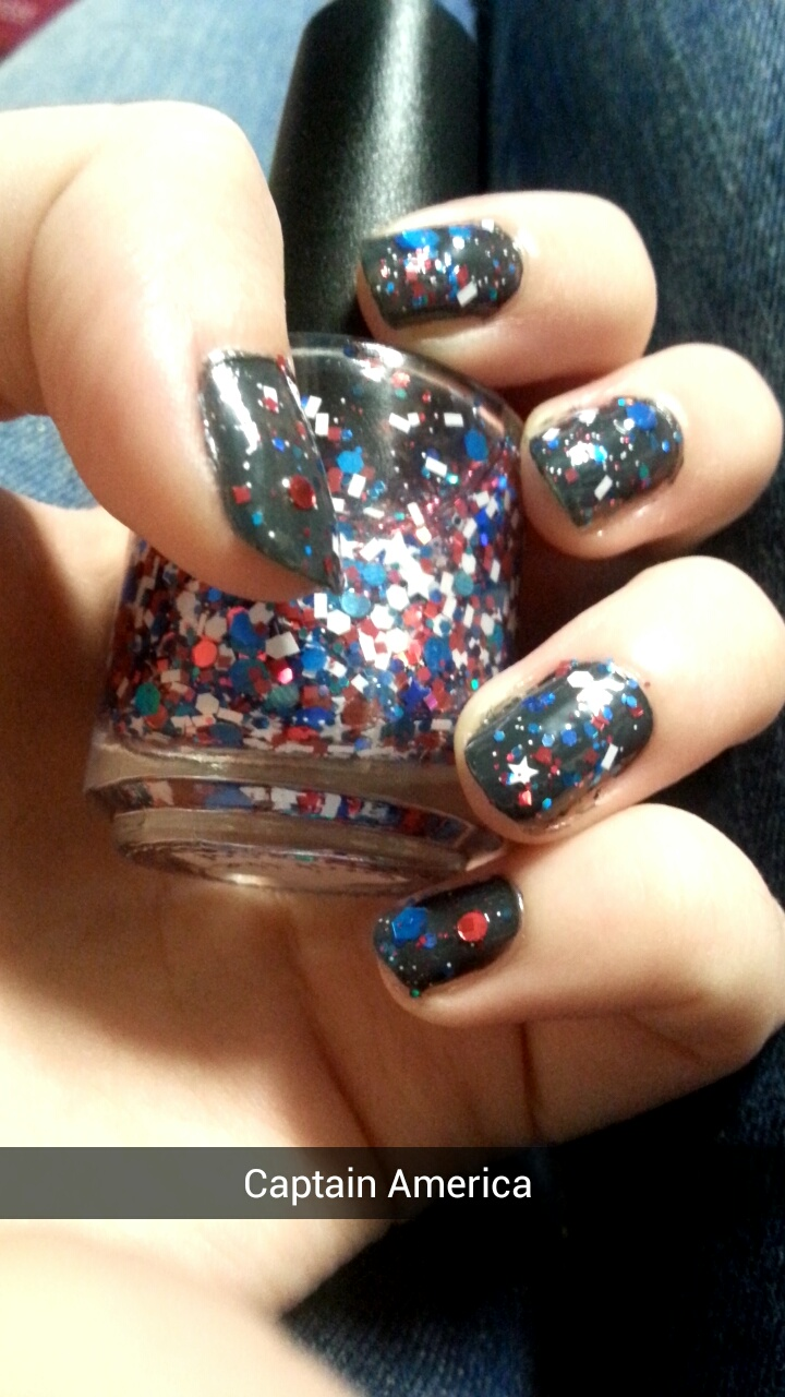 Review: Kawaii Nail Lacquer Avengers Polishes | The Nice and ...