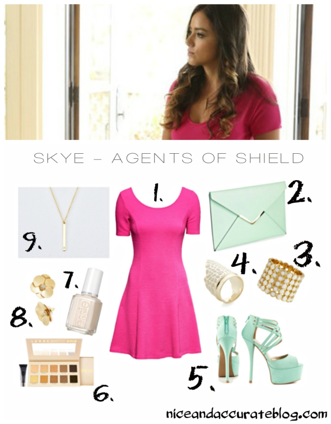 skye daisy johnson quake agents of shield marvel fall fashion geek style post